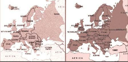 World+war+1+maps+before+and+after